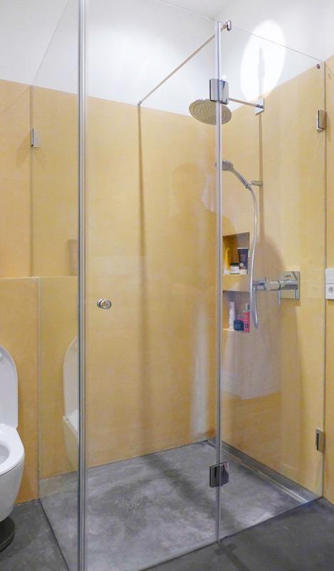 Denkmalschutz-Wohnungsumbau-Dusche