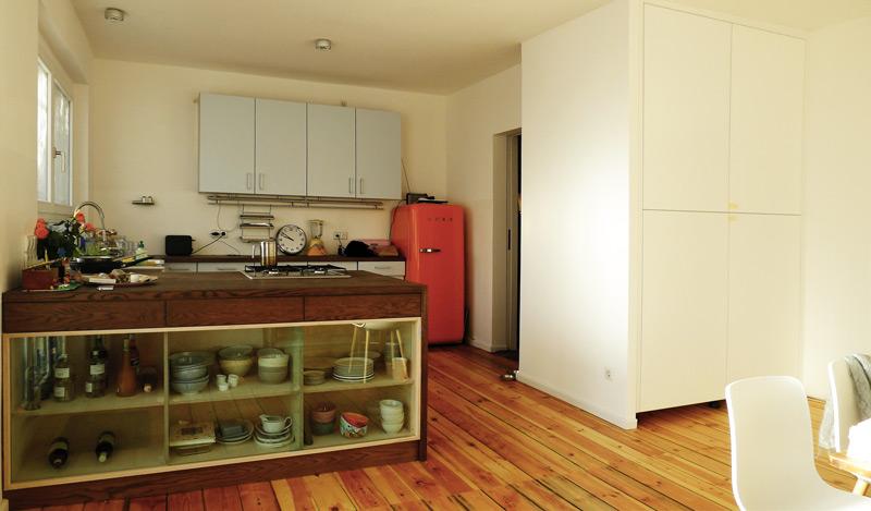 Einfamilienhaus-Eichkamp-Küche