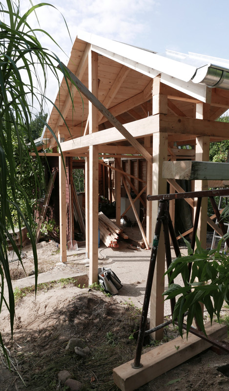 Gartenhaus-Bauphase-Konstruktion06