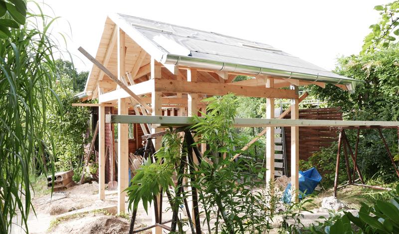 Gartenhaus-Bauphase-Konstruktion07