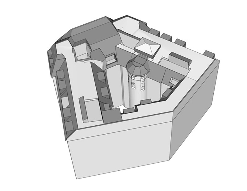 Haus-Preußenpark-Dach