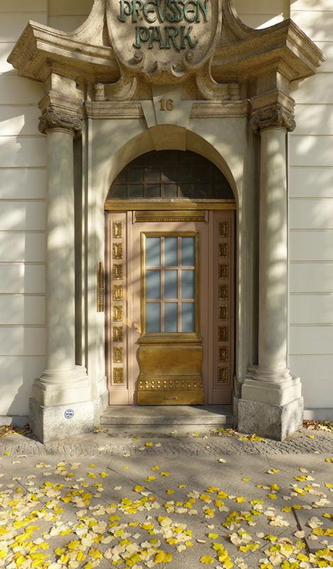 Haus-Preußenpark-Eingang