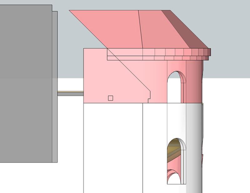 Haus-Preußenpark-Treppenturm